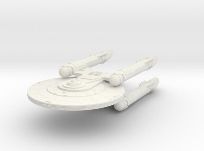 Baker Class VI REFIT New Axanar Ship 3d printed