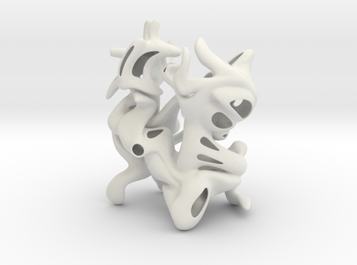 Frank's Free Flowing Self Awareness 3d printed