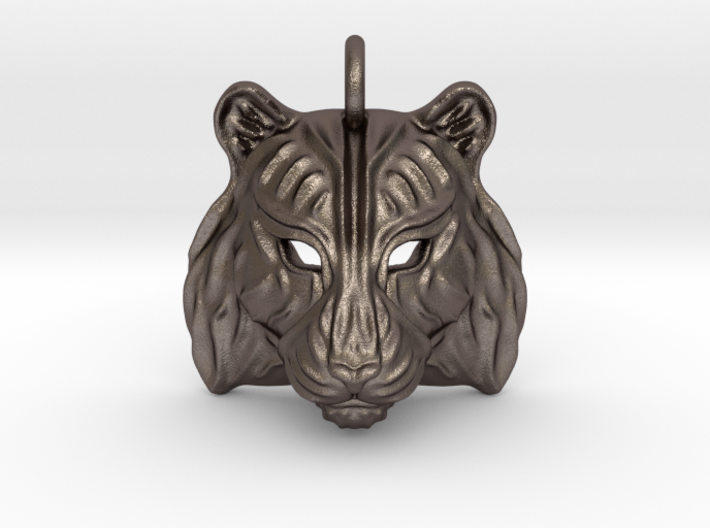 Tiger Small Pendant 3d printed