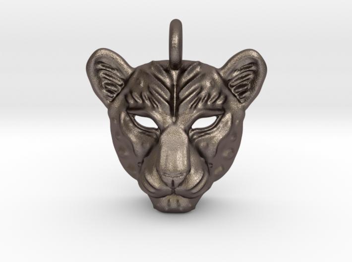 Leopard Small Pendan 3d printed