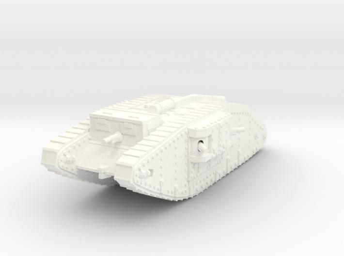 1/144 Mk.IV Female tank 3d printed