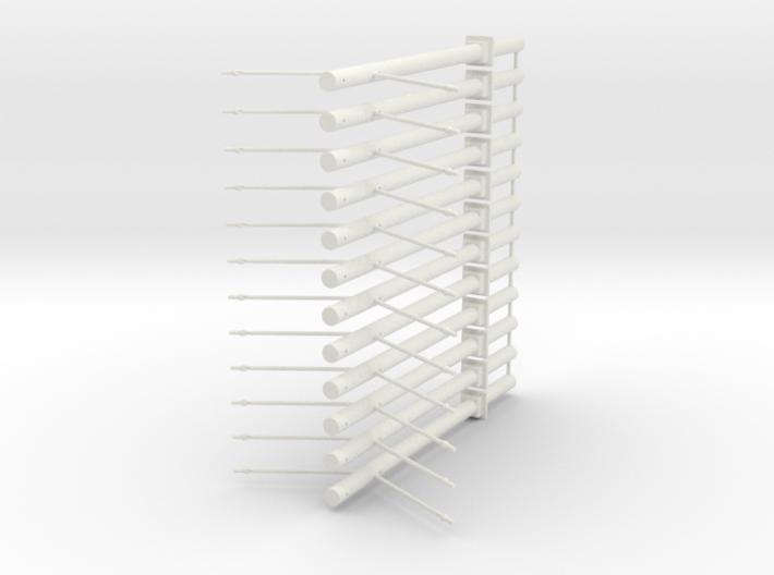 Betonmast V3 Mittelmast 12fach 3d printed