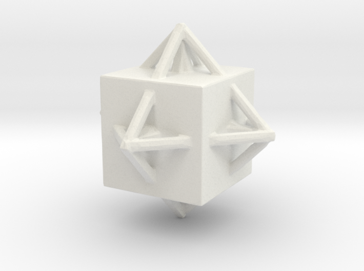 Diamond Necklace 3d printed