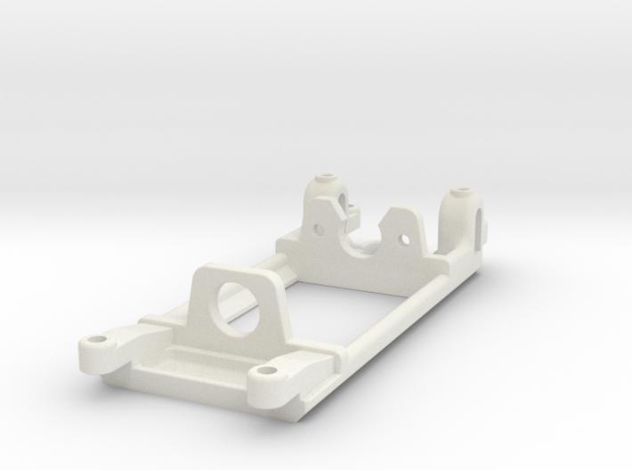 Long Can motor mount - Slot.it compatible 3d printed For Long Can motor, Slot.it compatible