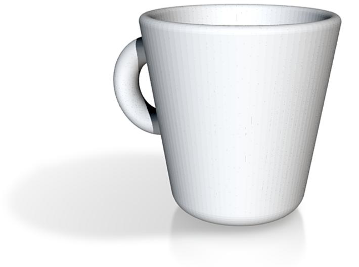 Espresso Met Oor Groot 3d printed