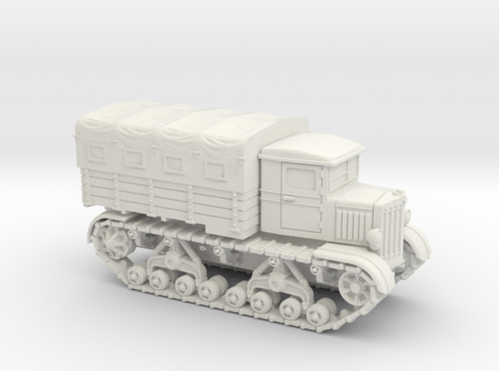 Voroshilovetz Tractor (15mm, with Canopy) 3d printed