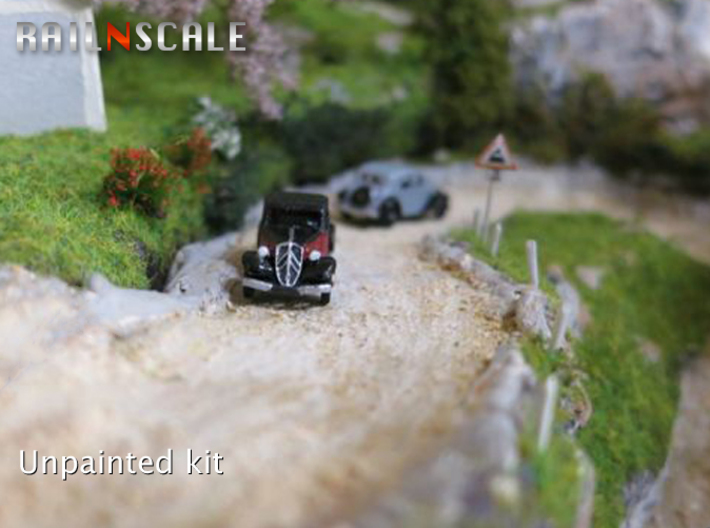 Citroën Traction Avant SET (N 1:160) 3d printed