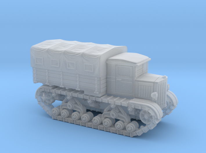 Voroshilovetz Tractor (6mm) 3d printed