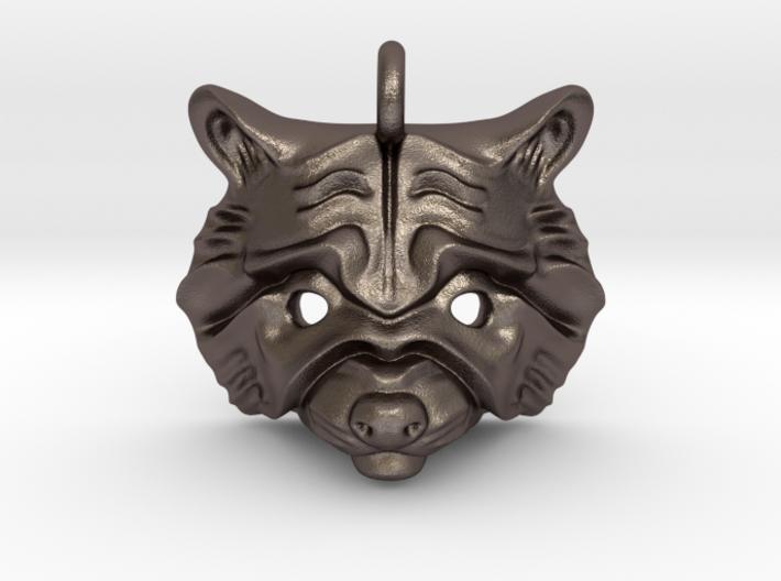 Raccoon Pendant 3d printed