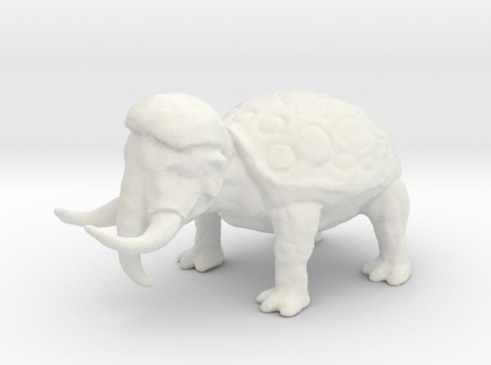 Woolly Tortoodon 3d printed