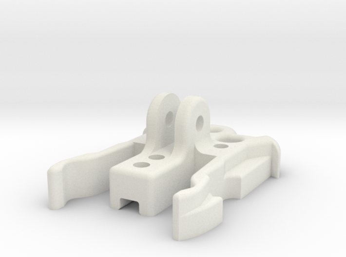 GimbalMount2Gopro SlideHolder 3d printed