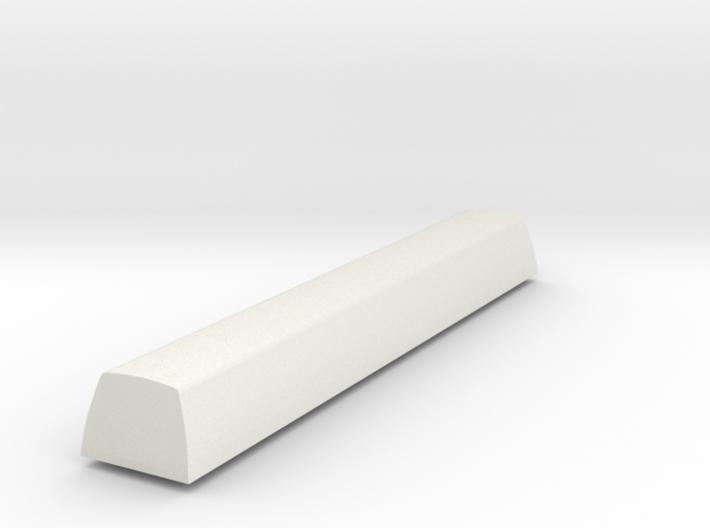 Customisable Topre Spacebar - SA Profile Row 3 3d printed