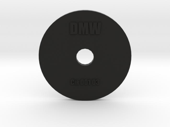 Clay Extruder Die: Circle 001 03 3d printed