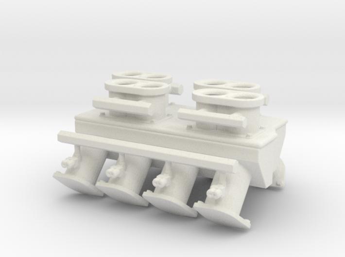Mountain Motor 1/16 Injector Intake 3d printed