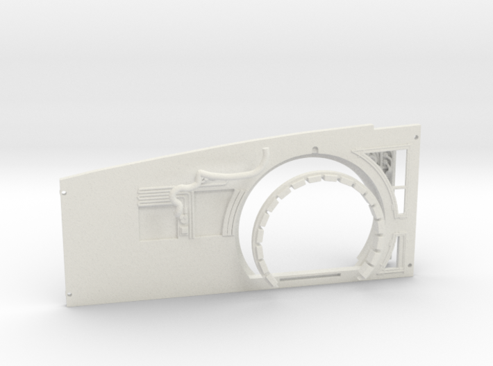 Starboard Wall Replacement for DeAgo Falcon 3d printed