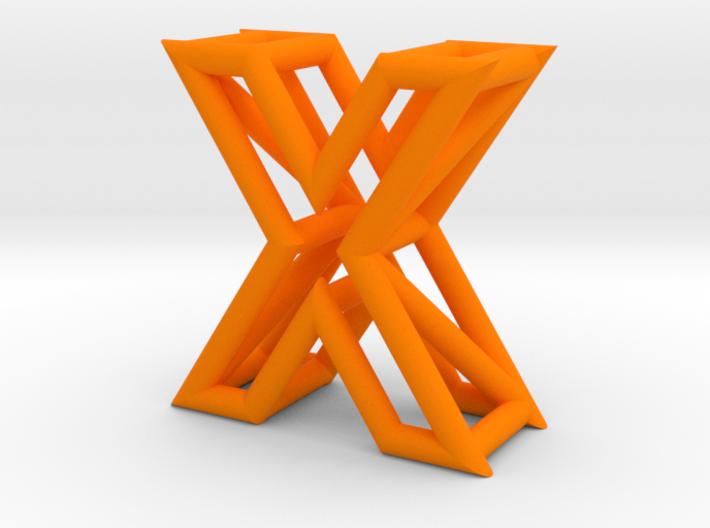 X 3d printed