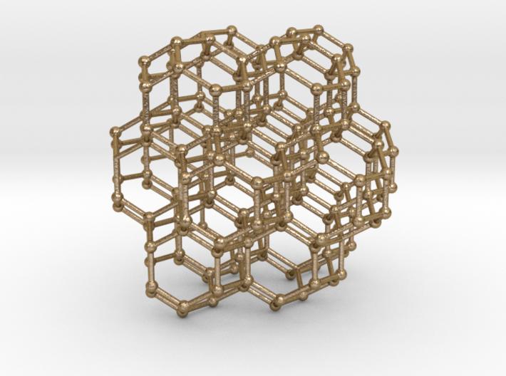 Bitruncated Cubic Honeycomb Sacred Geometry 80mm 3d printed