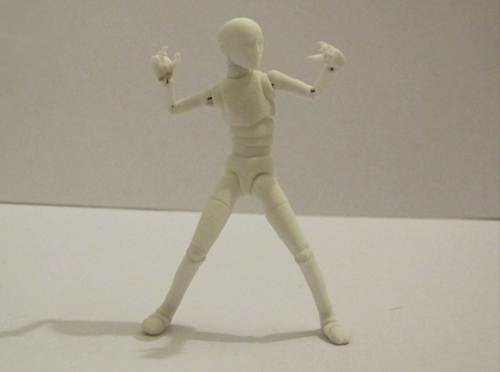1/16 scale MALE ball jointed doll kit 3d printed