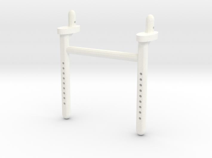 Dual Scx10 Long Rear Body Shaft 3d printed