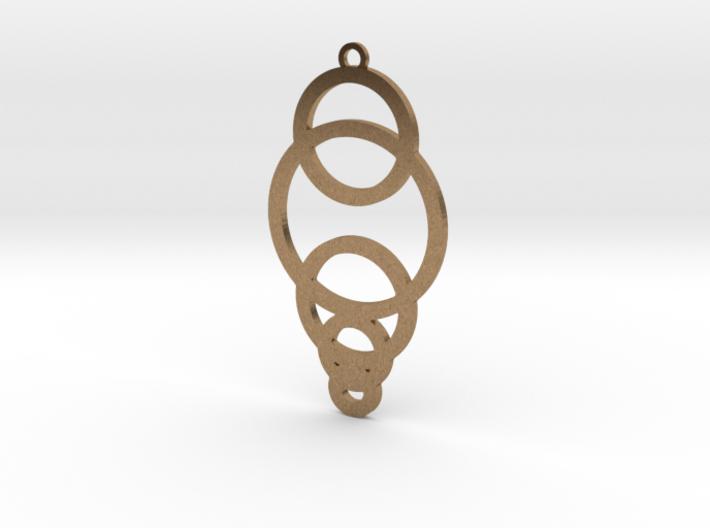 Decending Circles 3d printed
