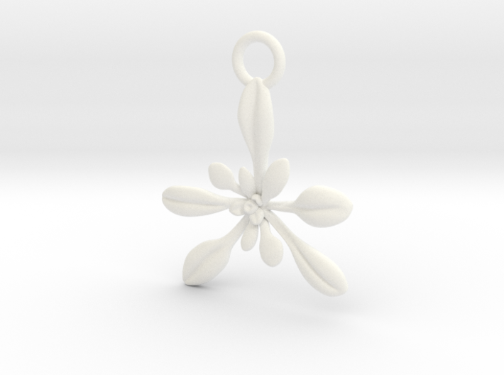Arabidopsis Ornament - Science Gift 3d printed