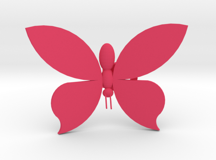 Butterfly On Your Wall - Small 3d printed