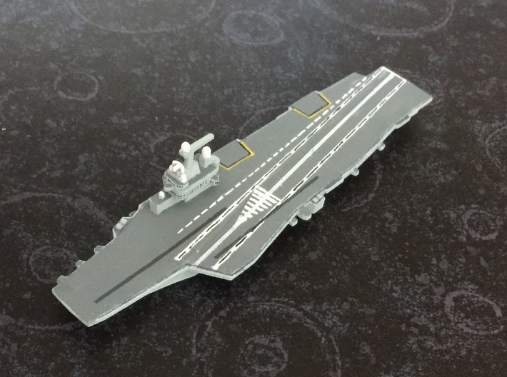 FS Charles de Gaulle (R91), 1/1800 3d printed Painted Sample