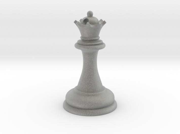Chess Queen 3d printed Chess Queen