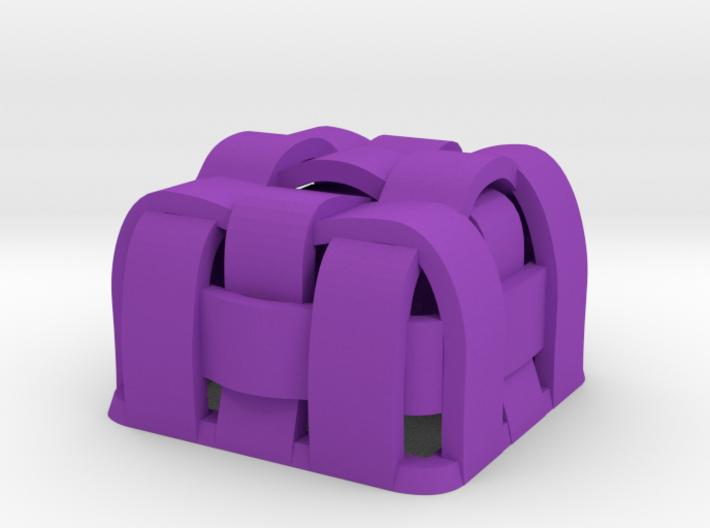 Weaved Cherry MX Keycap 3d printed