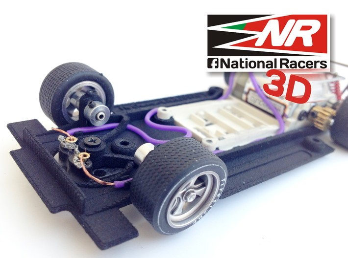 3D chassis - Fly Chevron B19/B21 (SW)  3d printed