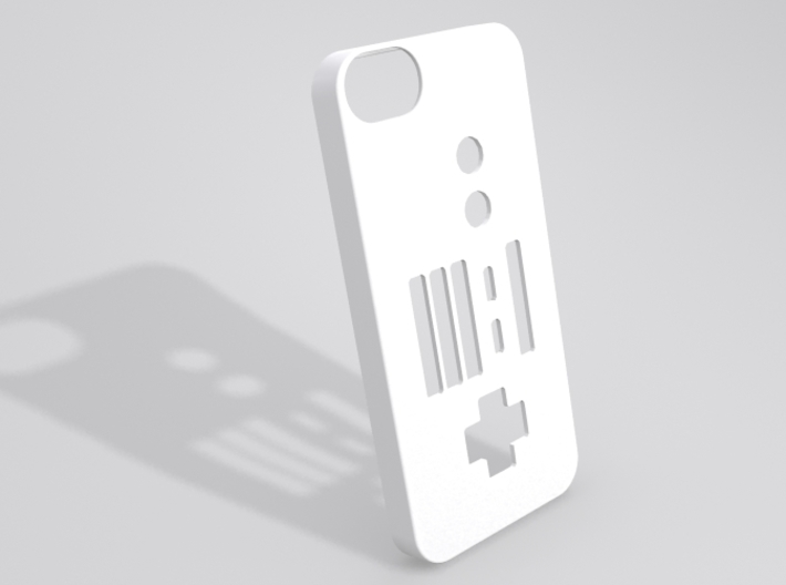 NES Controller iPhone 5 case 3d printed Sample render