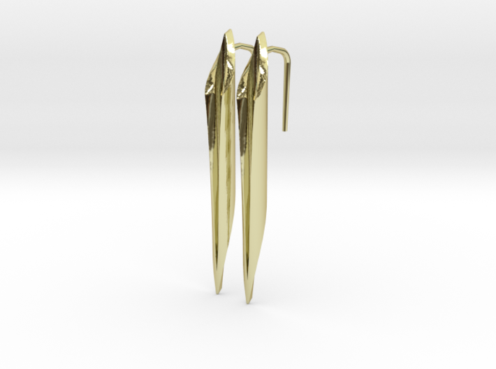 YOUNIVERSAL Straight, Earrings 3d printed