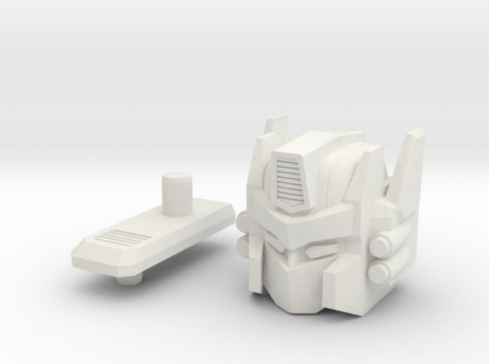 Truck Robot HEAD 3d printed