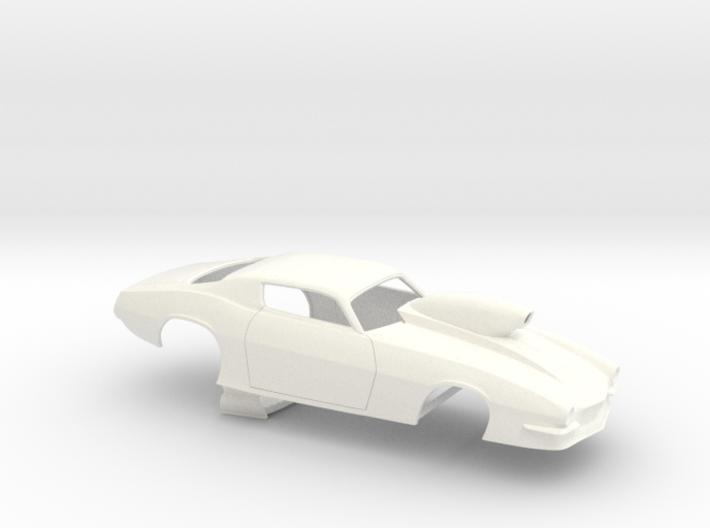 1/32 Pro Mod Camaro Cowl Hood W Scoop 3d printed