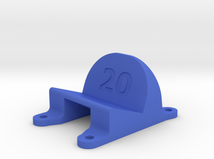 AstroX210 Universal Action Cam Mount 20-40° 3d printed
