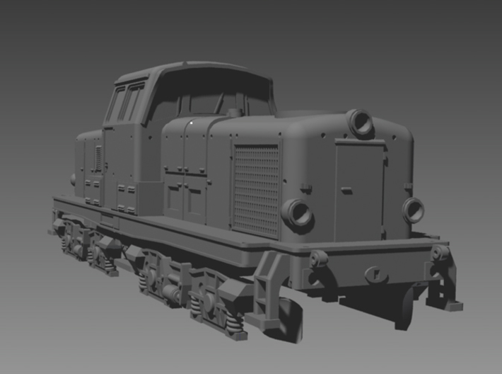 DSB MT 2 N scale 3d printed
