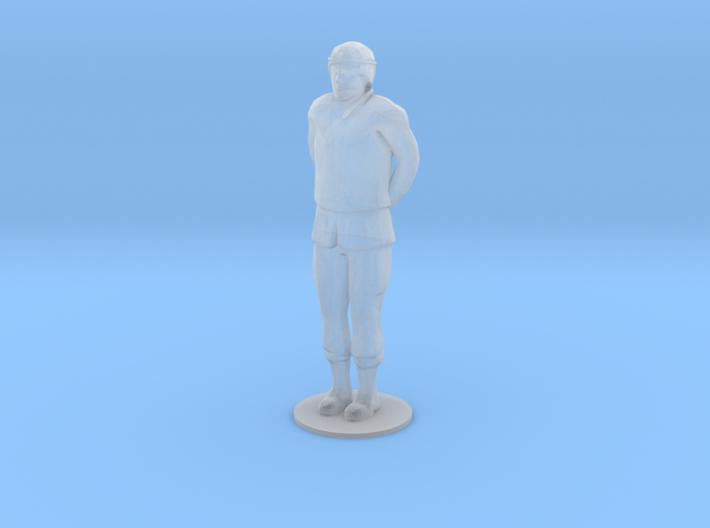 Male Soldier Hand Behind (1/48) 3d printed