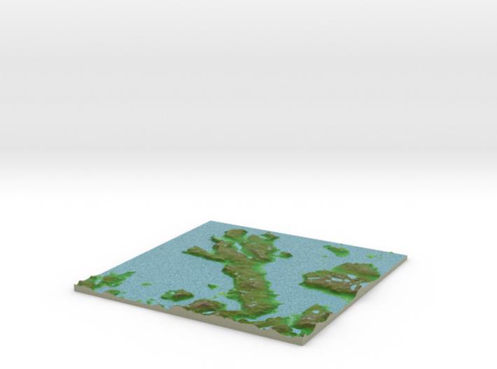 Terrafab generated model Wed Jun 29 2016 08:38:51 3d printed