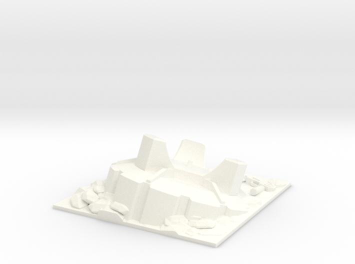 Battle Ram Wheel Display Base 3d printed