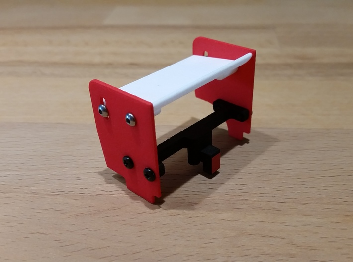 Sideplate Left 1mm 3d printed