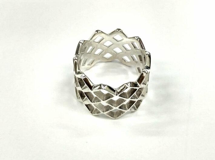 Mesh ring 3d printed