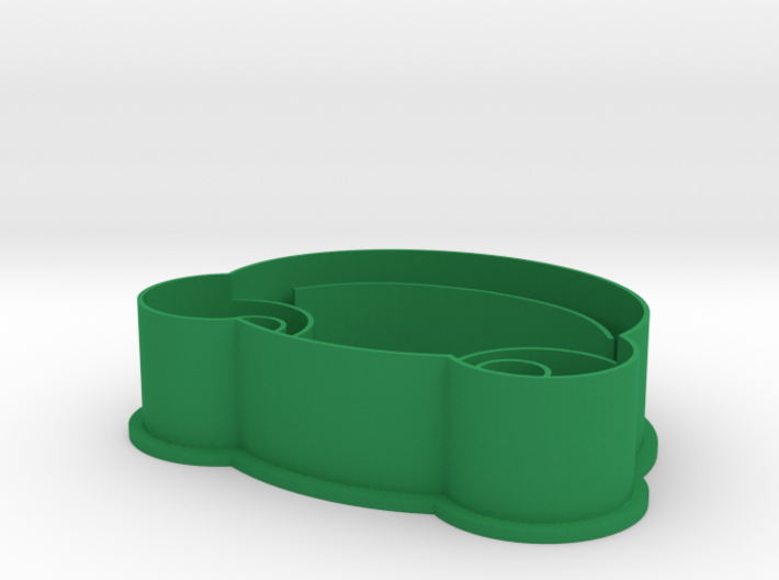 Sapo Pepe Frog Cookie Cutter  3d printed