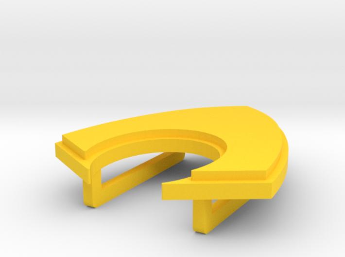 Aquaman Belt Buckle 3d printed