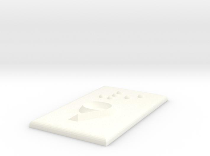 9 (Neun) 3d printed