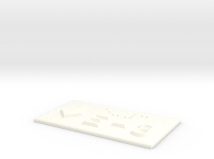 E-3 mit Pfeil nach unten 3d printed