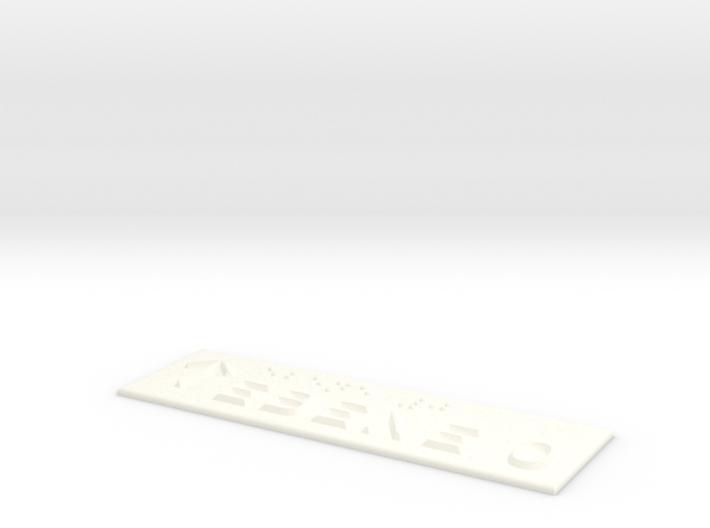 EBENE 0 mit Pfeil nach oben 3d printed