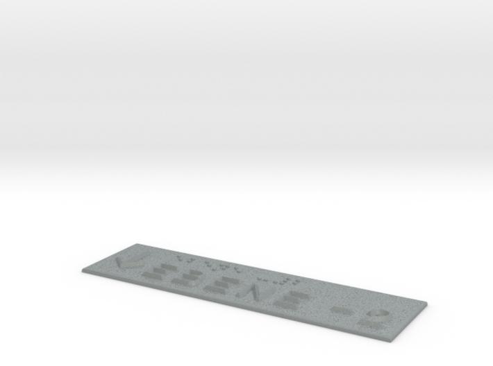 EBENE -2 mit Pfeil nach unten 3d printed