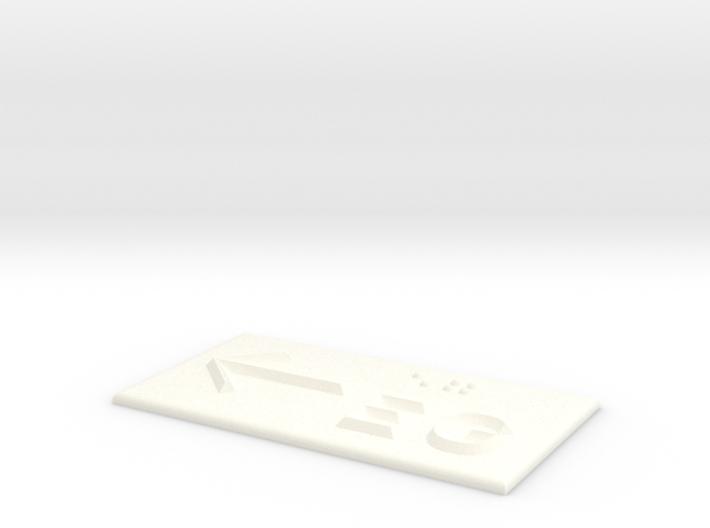 EG mit Pfeil nach links 3d printed