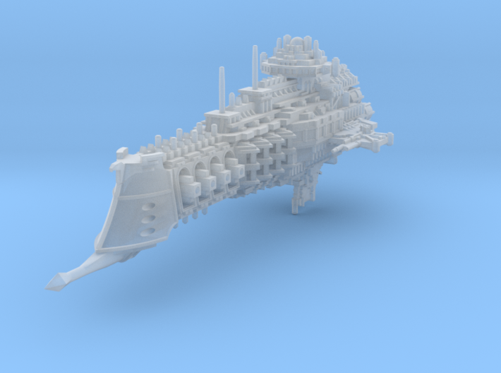 Dictator class cruiser 3d printed