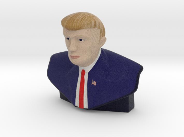"The Donald Trump Statue - Small & Color 3d printed ""The Donald"" Trump Stature - Small & Color"
